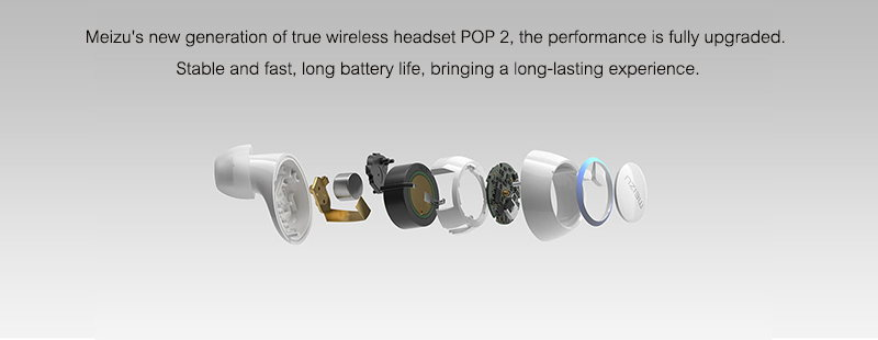 meizu pop2 tws wireless earphones