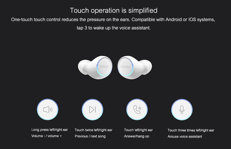 buy meizu pop2 tws earphones