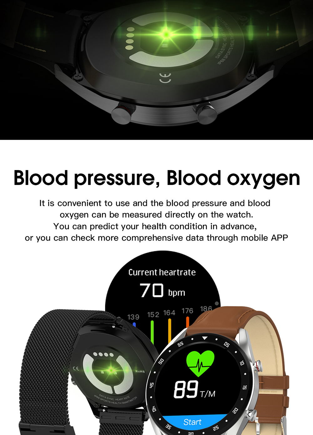 microwear l7 smartwatch for sale