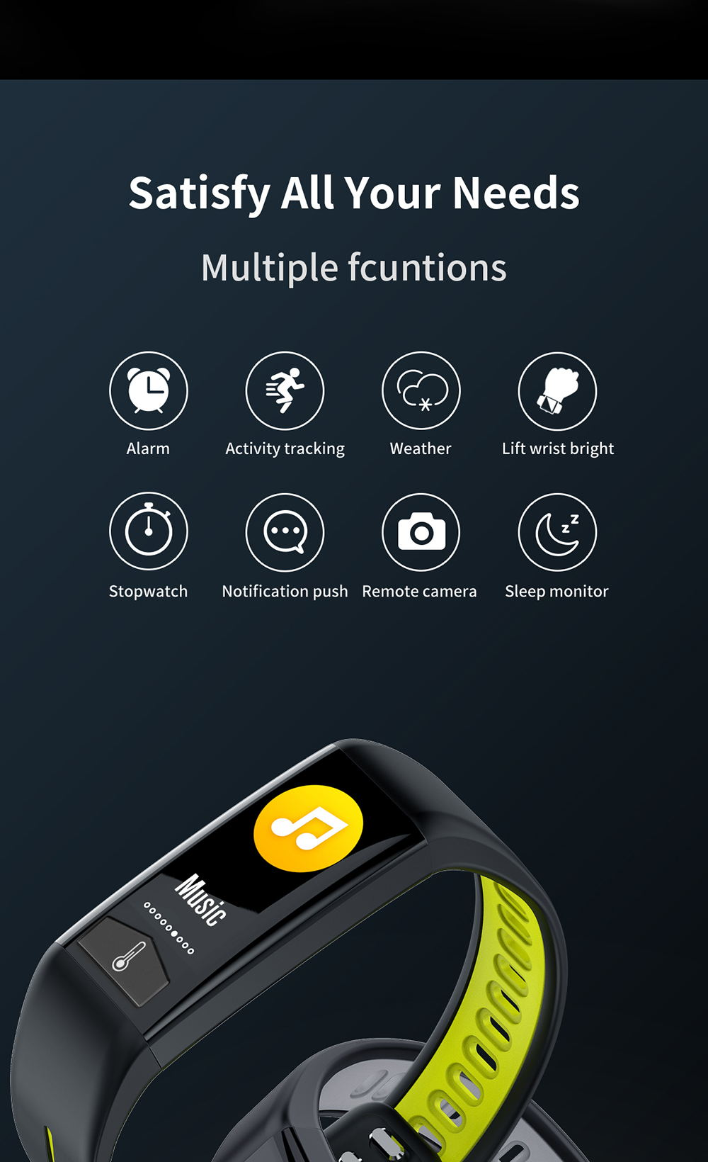 buy microwear t02 bluetooth smart wristband