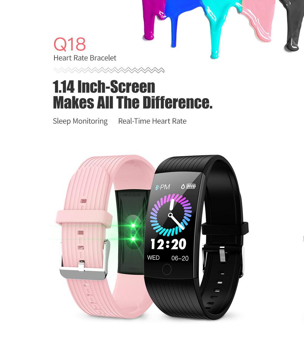 newwear q18 smart bluetooth wristband