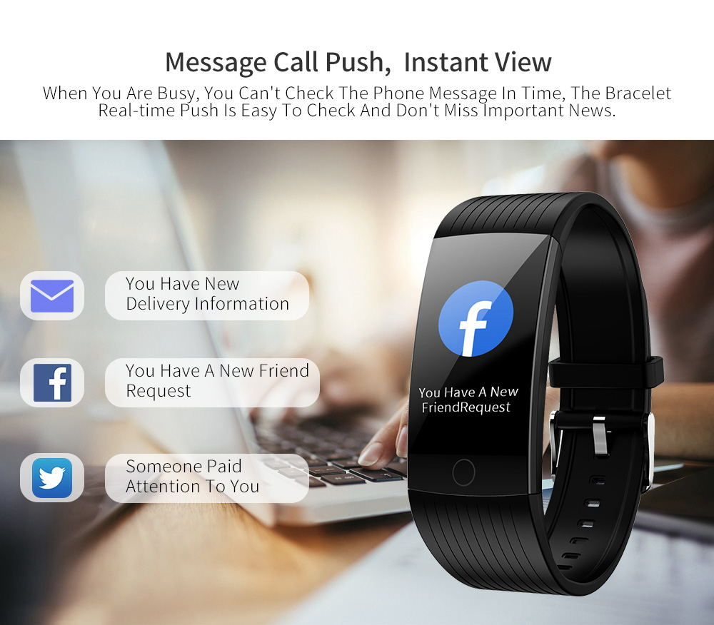2019 newwear q18 smart wristband