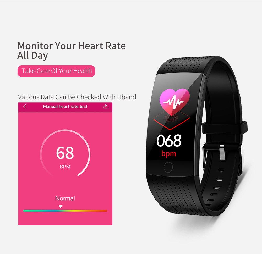 2019 newwear q18 smart bluetooth wristband