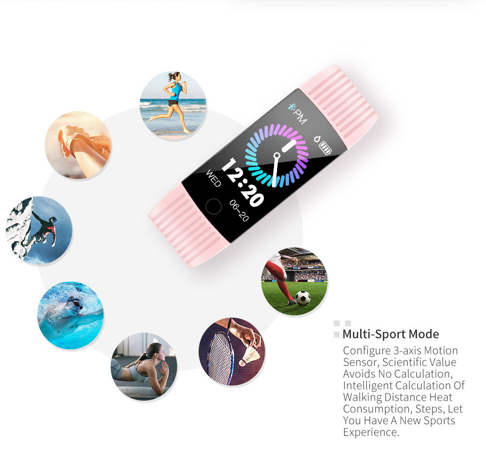 buy newwear q18 smart wristband