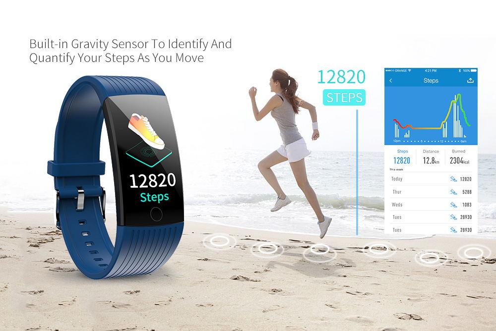 new newwear q18 smart wristband