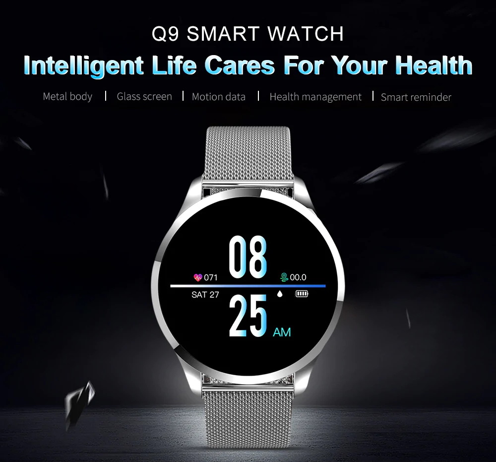newwear q9 bluetooth smartwatch