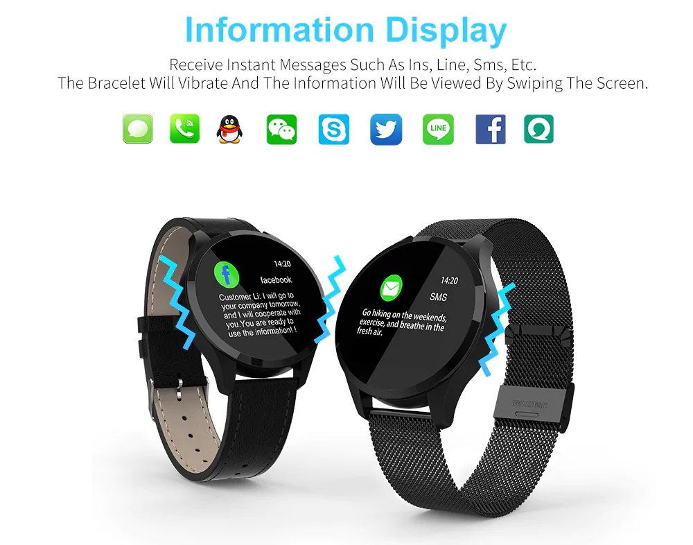 newwear q9 smartwatch