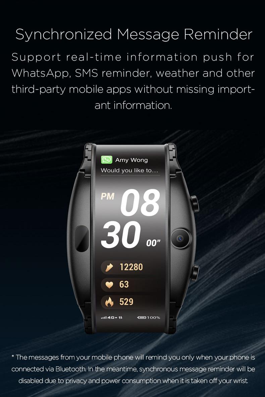2019 nubia alpha smartwatch phone