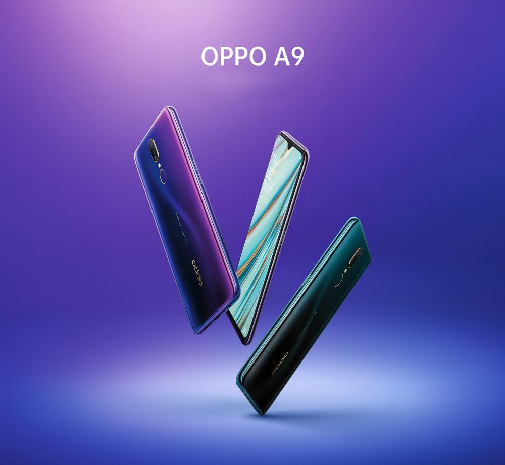 oppo a9 smartphone