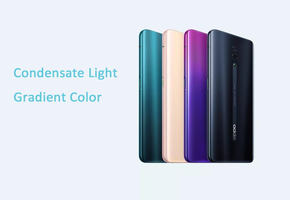 2019 oppo reno 4g smartphone 8gb/256gb