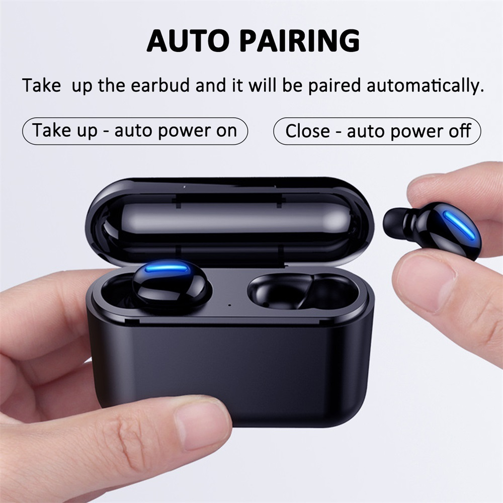 new q32 bluetooth tws earphones