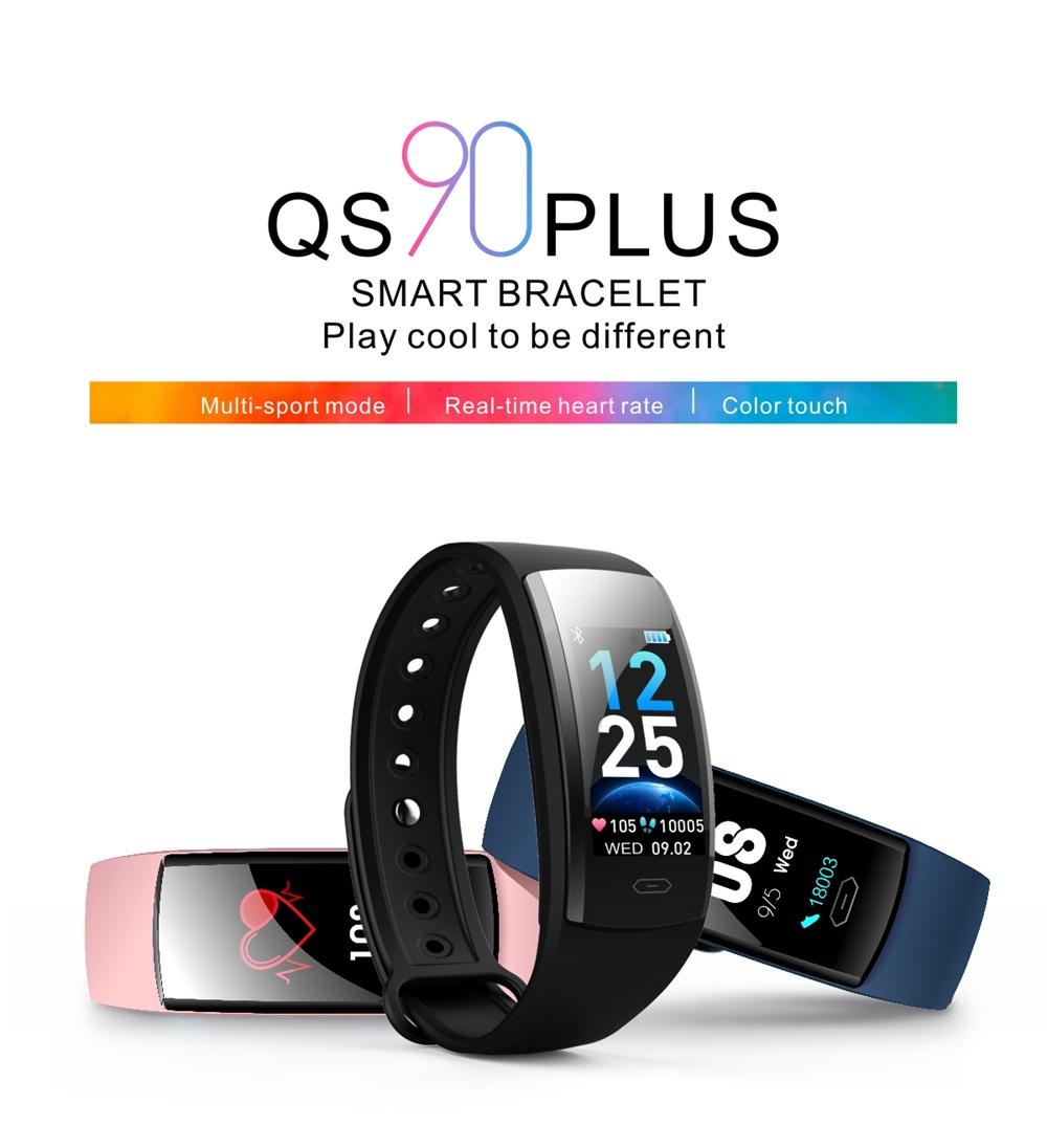 qs90 plus bluetooth smart bracelet