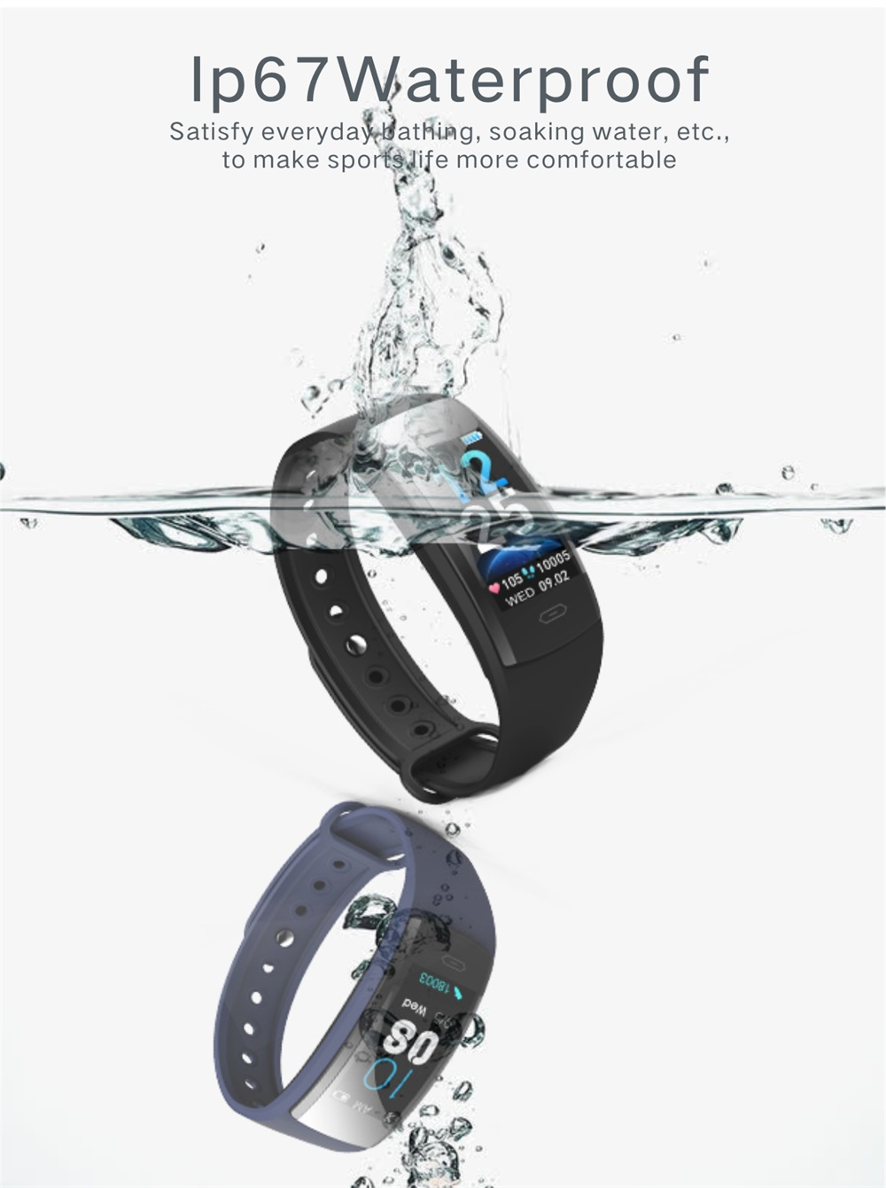 buy qs90 plus smart wristband