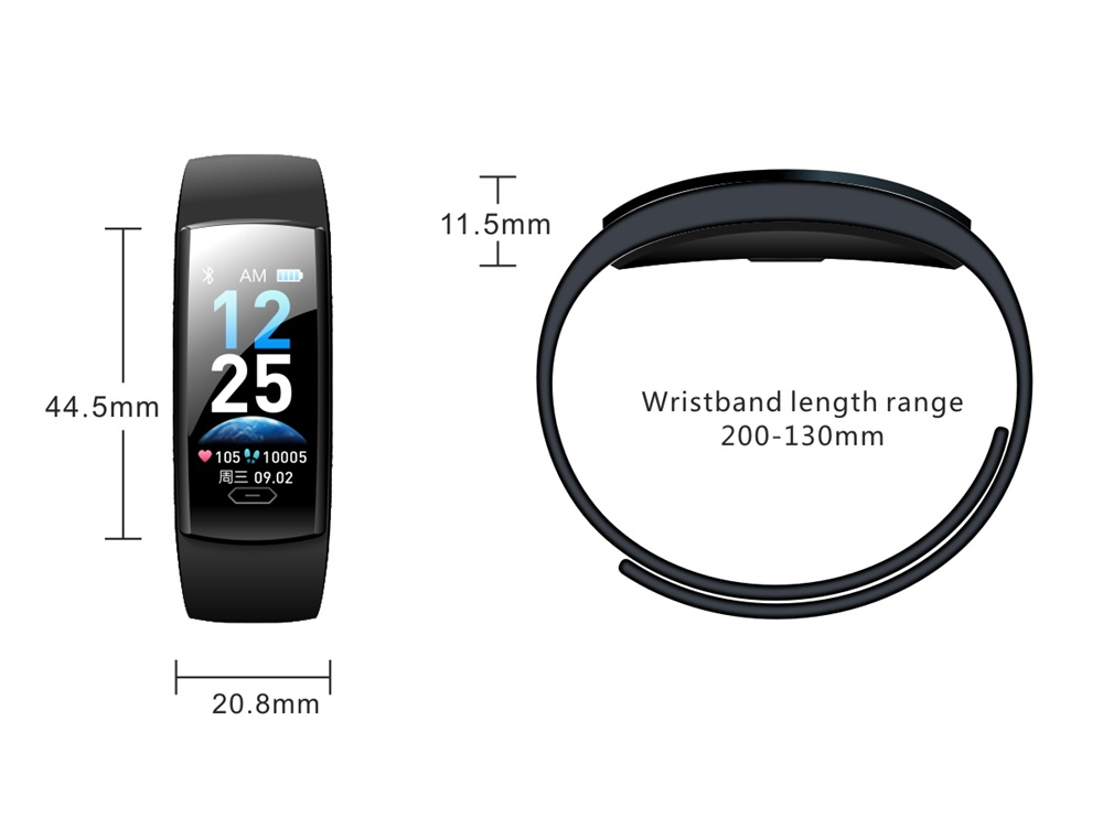 qs90 plus smart wristband for sale