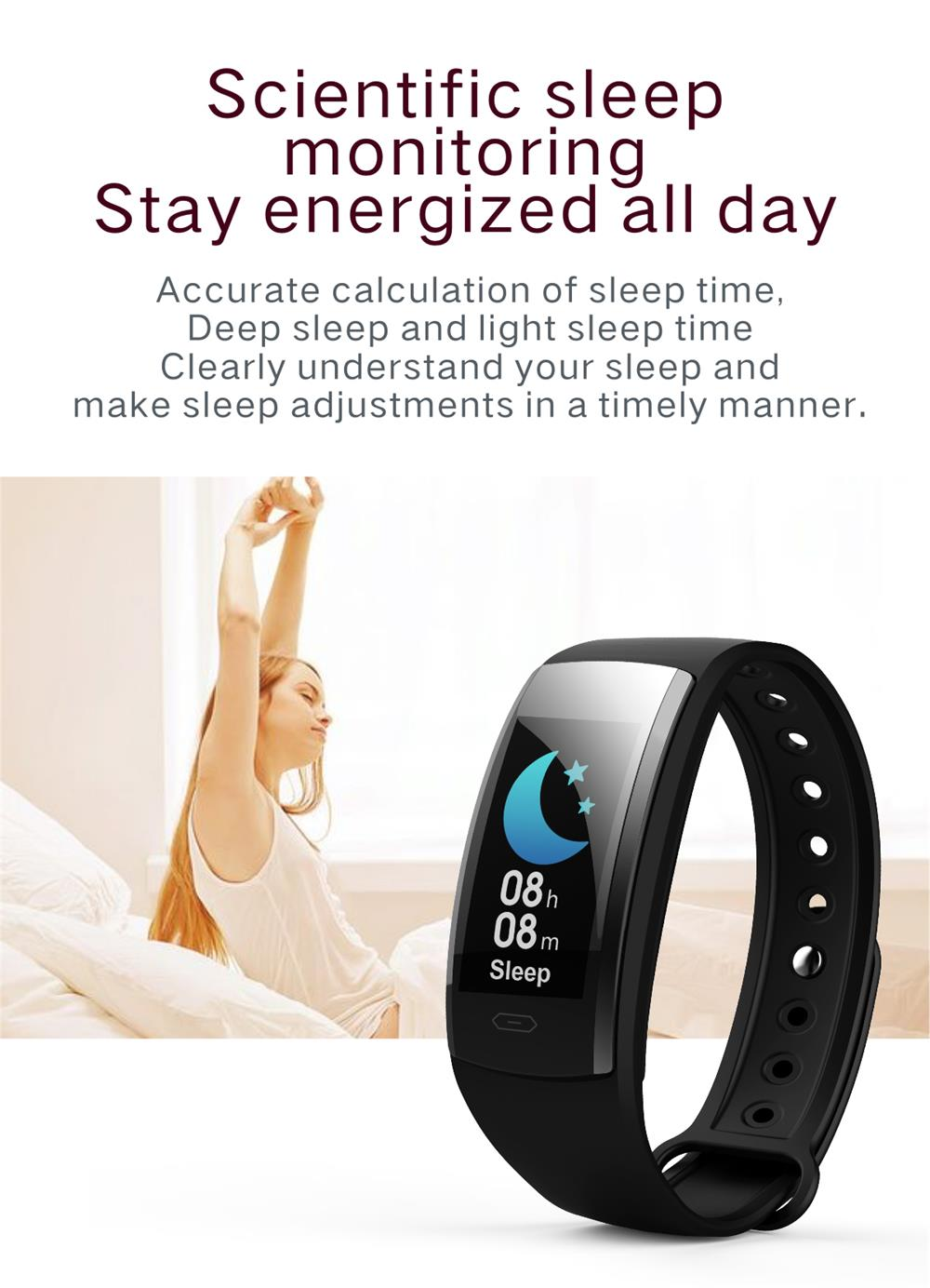 qs90 plus smart bracelet for sale