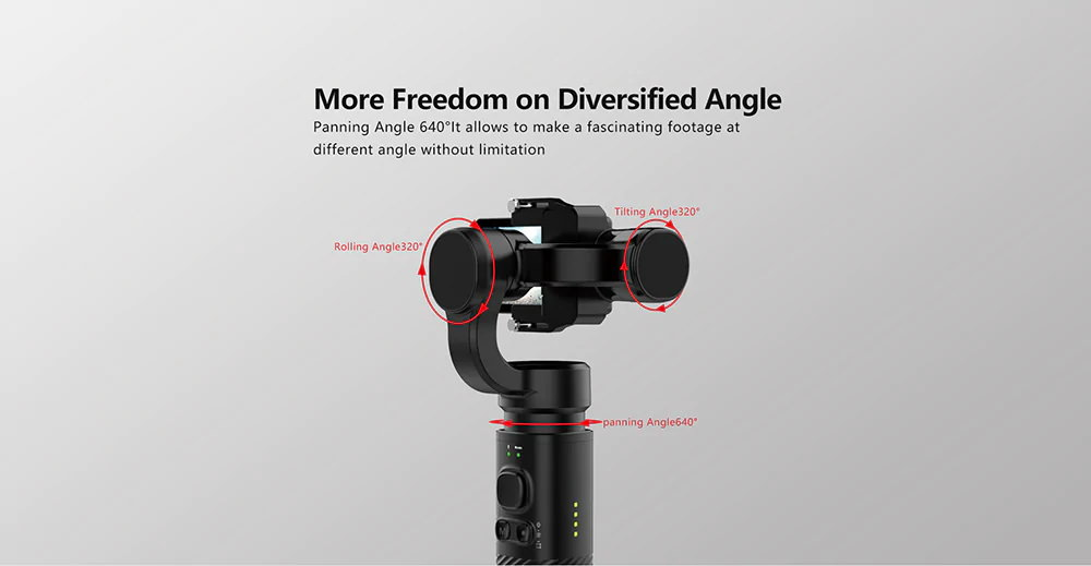 sjcam sj-gimbal 2 gimbal stabilizer for sale
