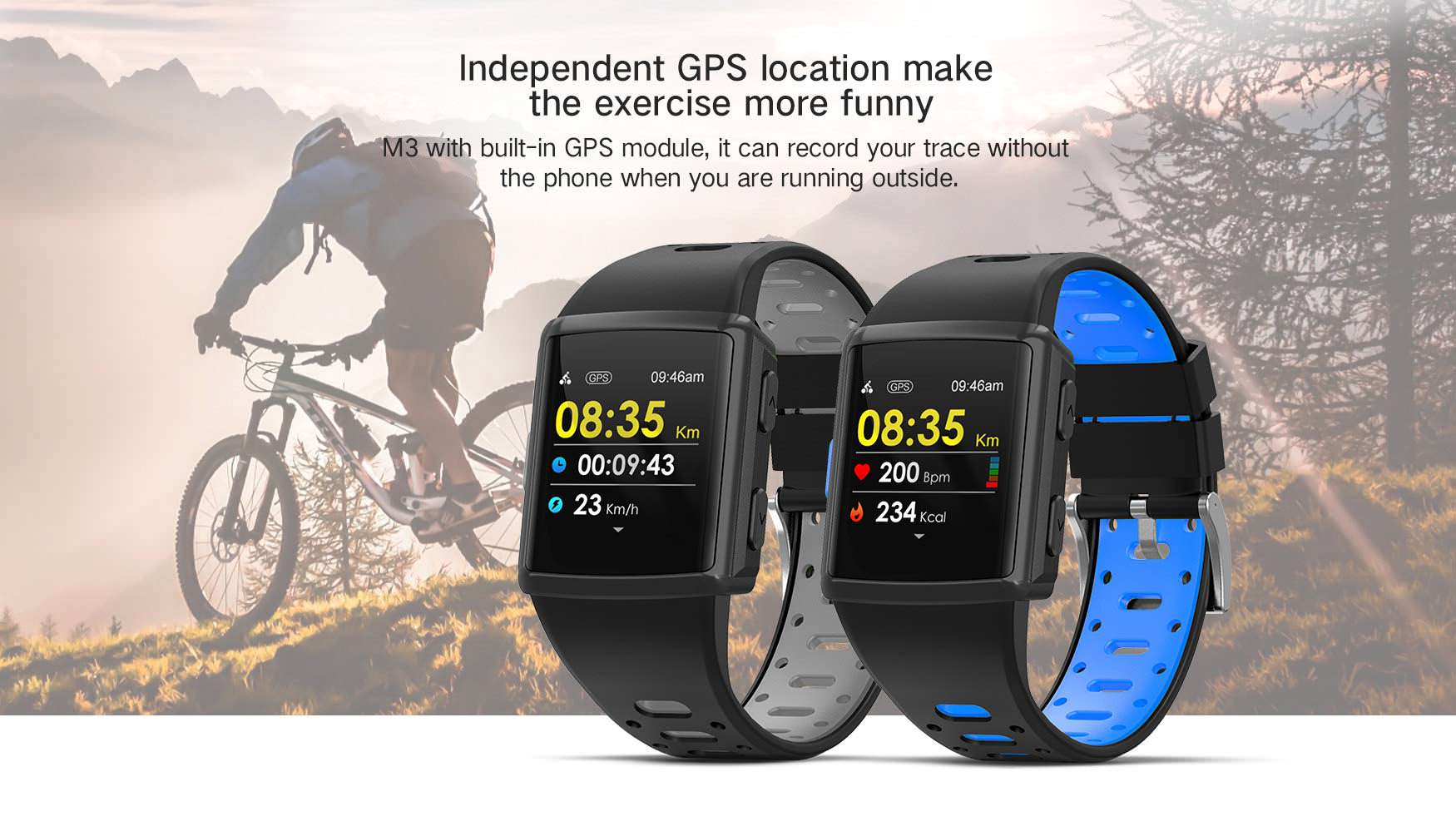 new sma m3 bluetooth smartwatch