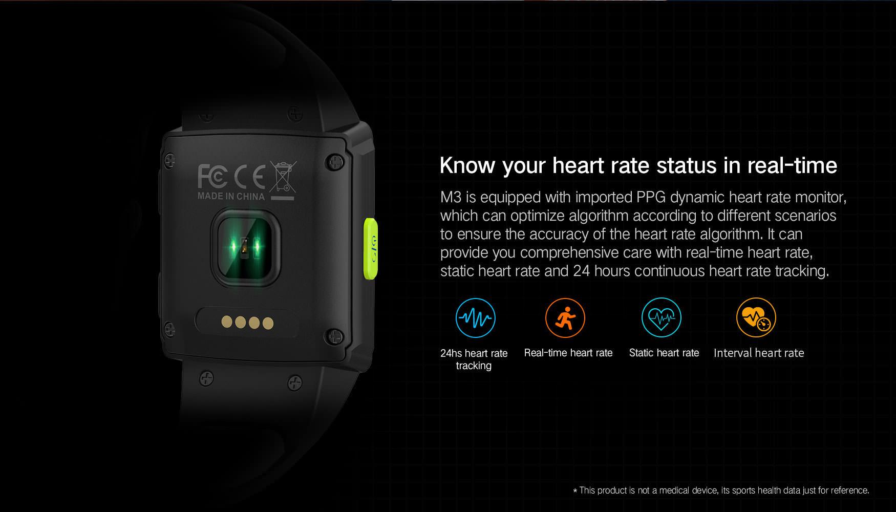 sma m3 smartwatch