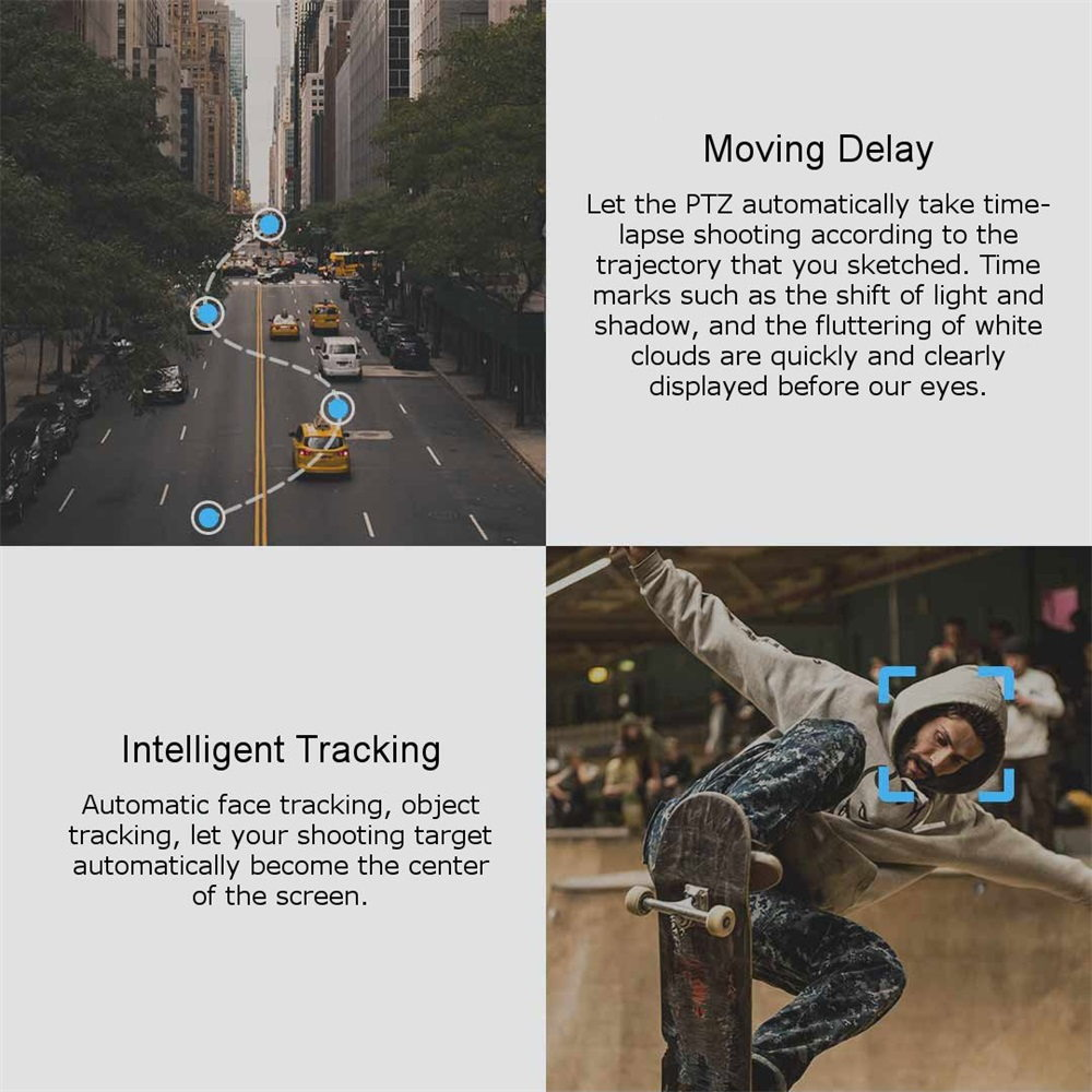 snoppa folding handheld stabilizer intelligent tracking