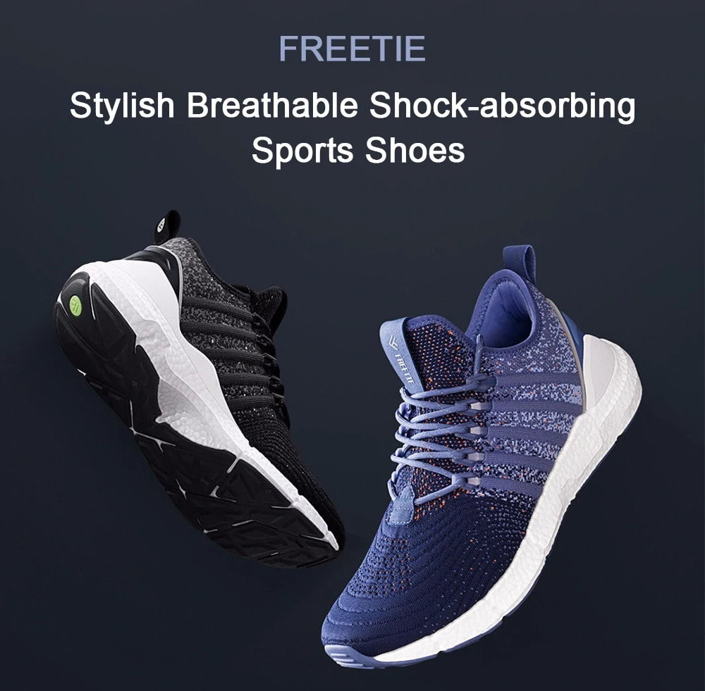 xiaomi freetie breathable cloud running shoes