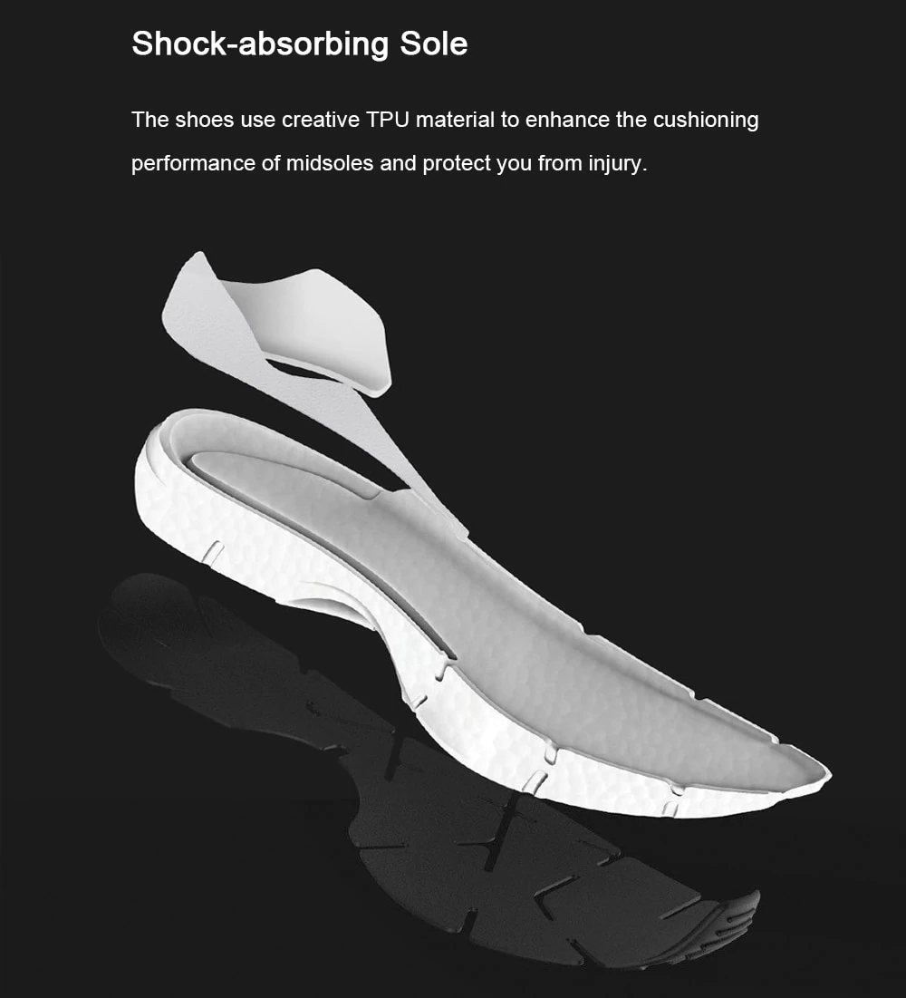 new xiaomi freetie breathable cloud running shoes