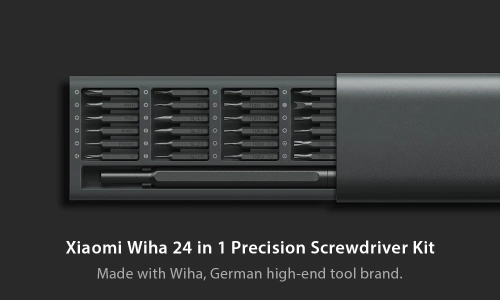 xiaomi mijia wiha 24 in 1 screwdriver