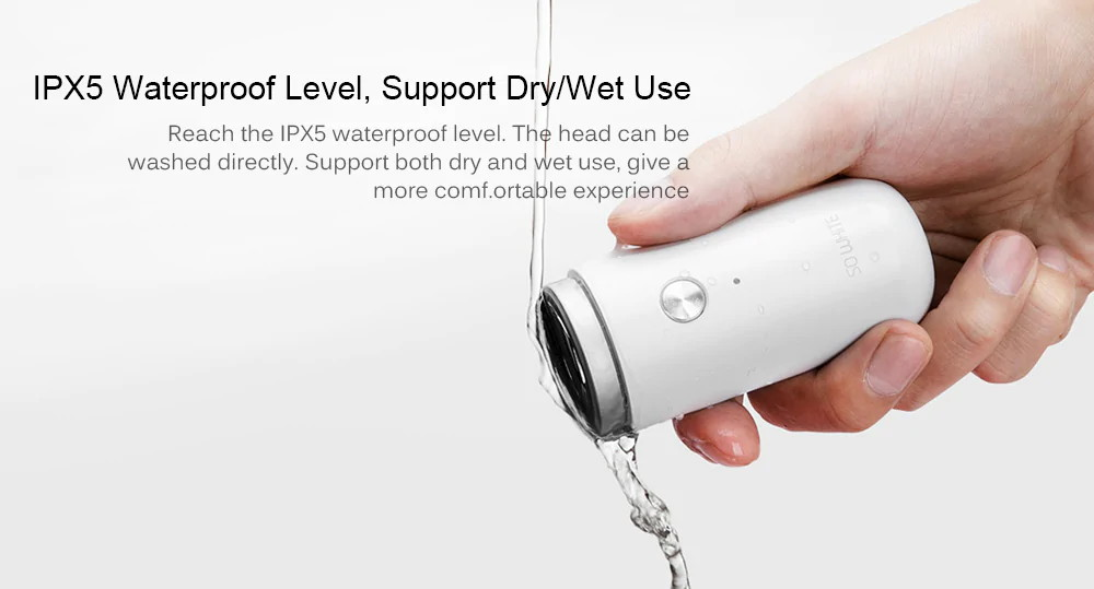 2019 xiaomi so white ed1 mini shaver