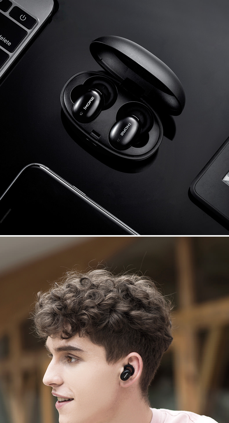 2019 xiaomi 1more e1026bt-i wireless earphones