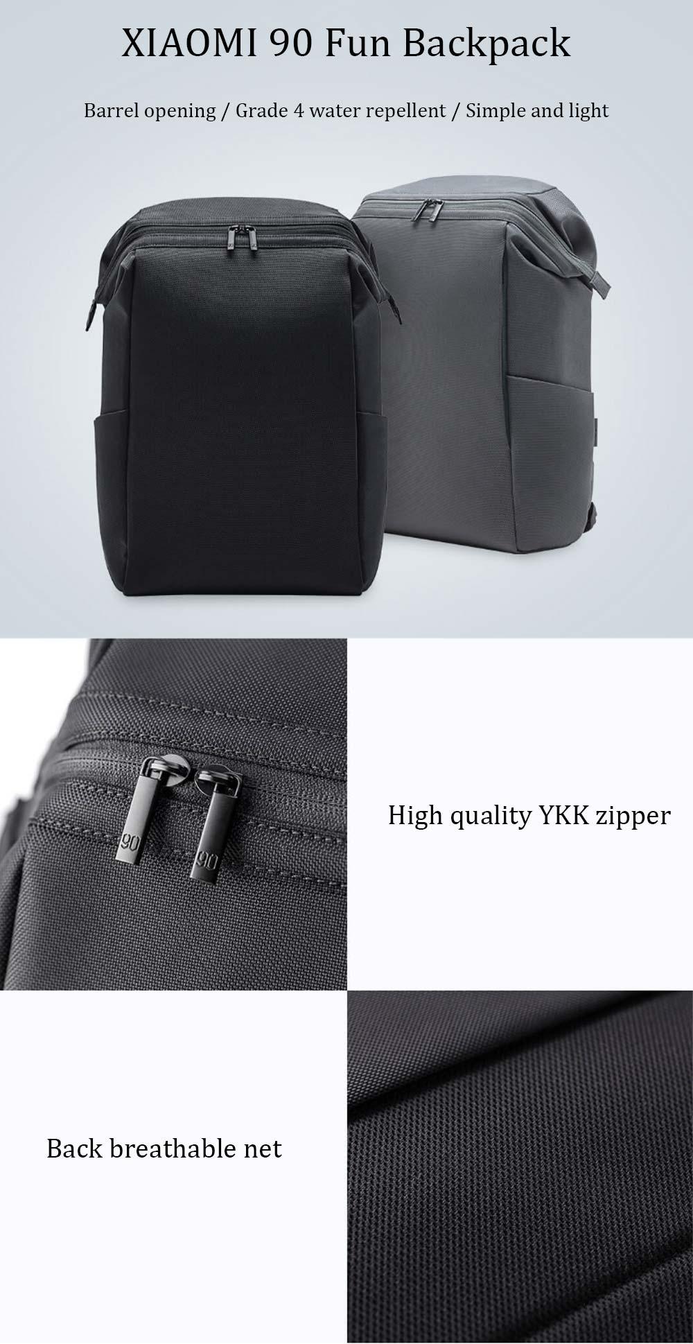 xiaomi 90 fun portable laptop backpack