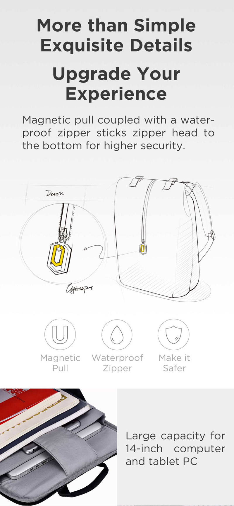 xiaomi 90fun leisure laptop backpack price