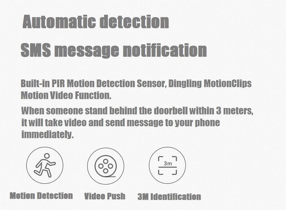 xiaomi fj02mlwj 720p video doorbell for sale