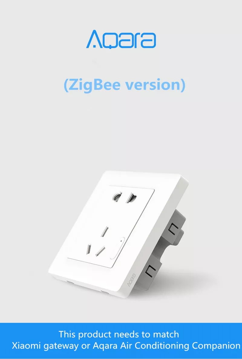 buy xiaomi aqara qbcz11lm smart wall socket