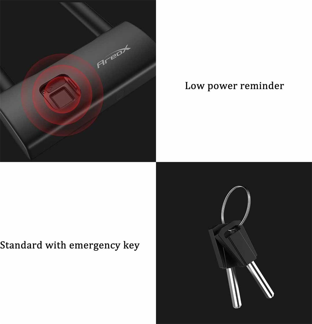 buy xiaomi areox u8 fingerprint u-lock