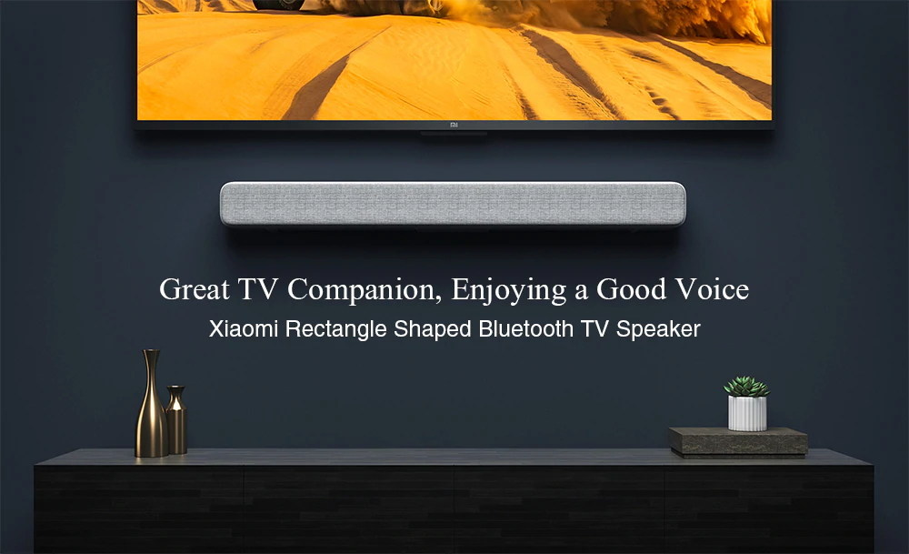 Barra de sonido de Xiaomi Bluetooth TV ofrece un emocionante sonido cinematográfico Xiaomi-Bluetooth-Audio-Speaker-1