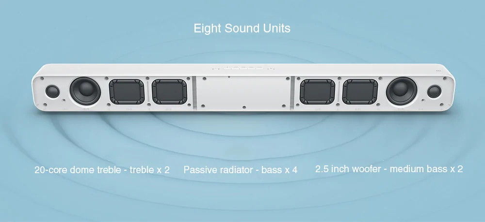 new xiaomi 33inch tv soundbar