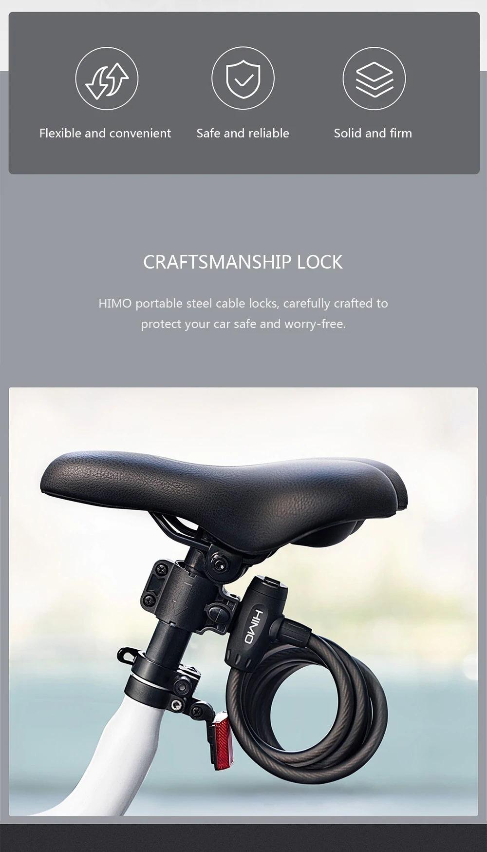 xiaomi himo l150 folding lock
