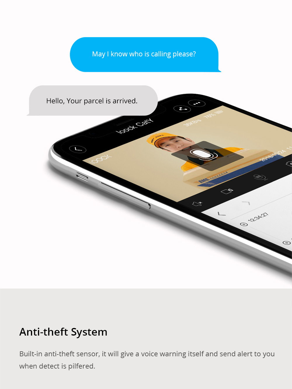 xiaomi loock caty smart video doorbell