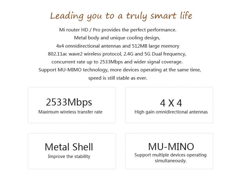 xiaomi mi r3p wireless router pro