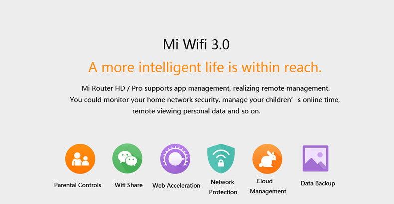 xiaomi pro wireless router