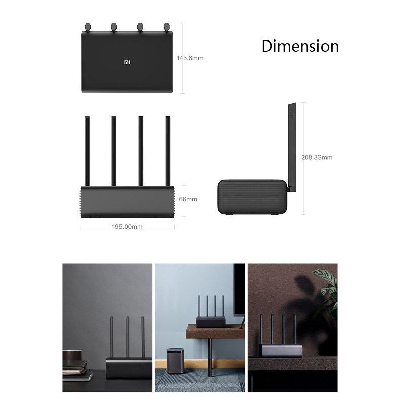 new xiaomi mi r3p wireless router pro