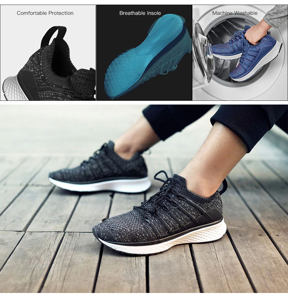buy xiaomi mijia 2 mjydx02ycm fishbone sneakers
