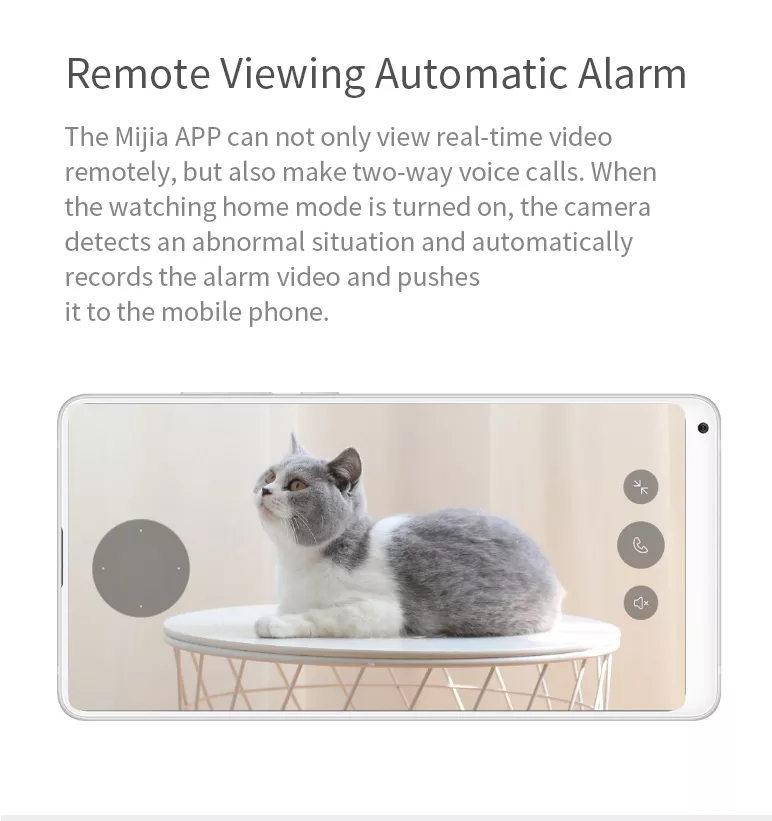 mijia xiaobai smart home wifi ip camera