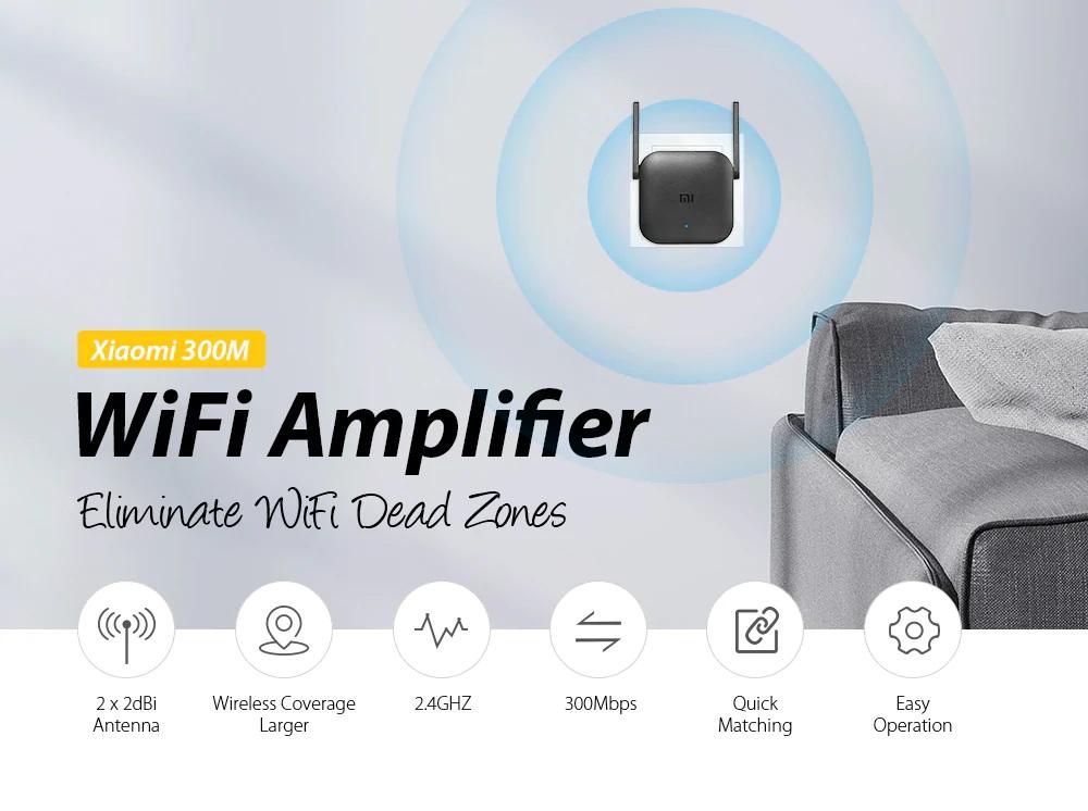 xiaomi pro 300mbps wifi amplifier