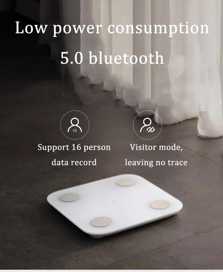 2019 xiaomi 2.0 bluetooth body fat scale