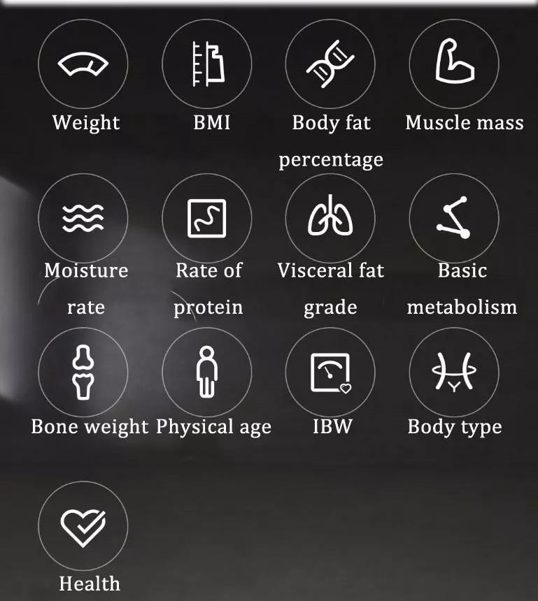 2019 xiaomi 2.0 body fat scale