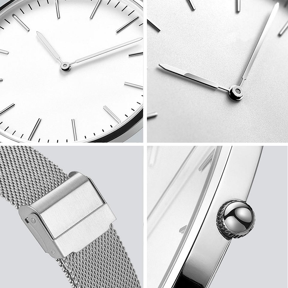 twentyseventeen ultra-thin waterproof quartz watch