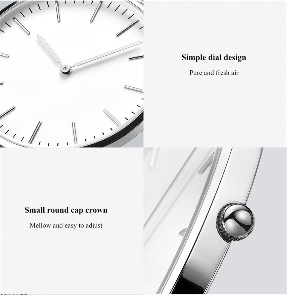 xiaomi twentyseventeen ultra-thin quartz watch for sale