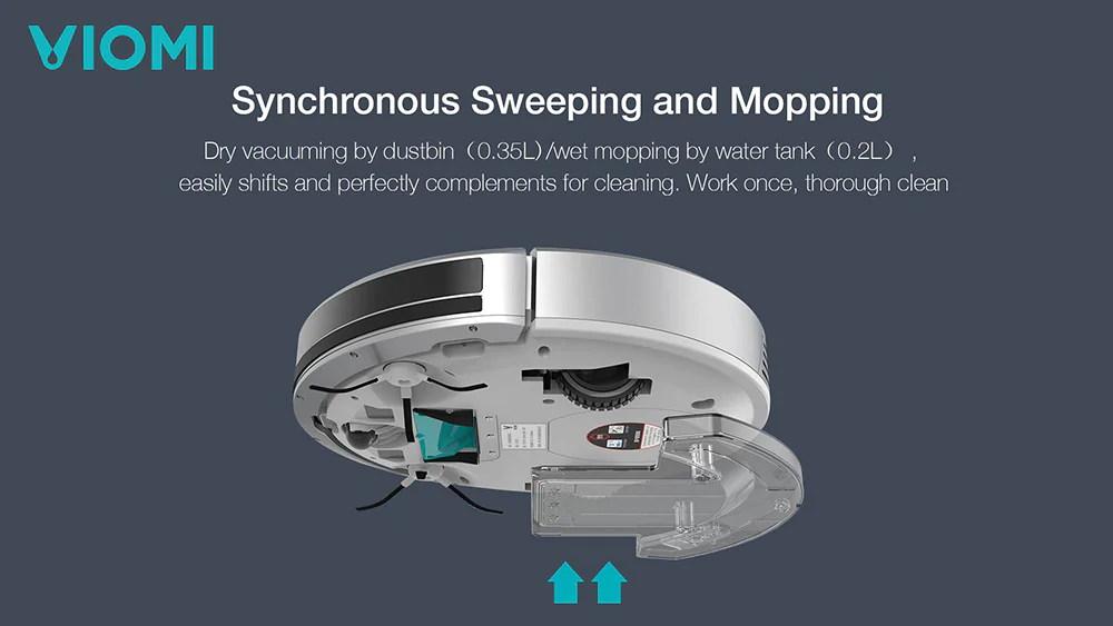 new xiaomi viomi vxrs01 smart robot vacuum cleaner