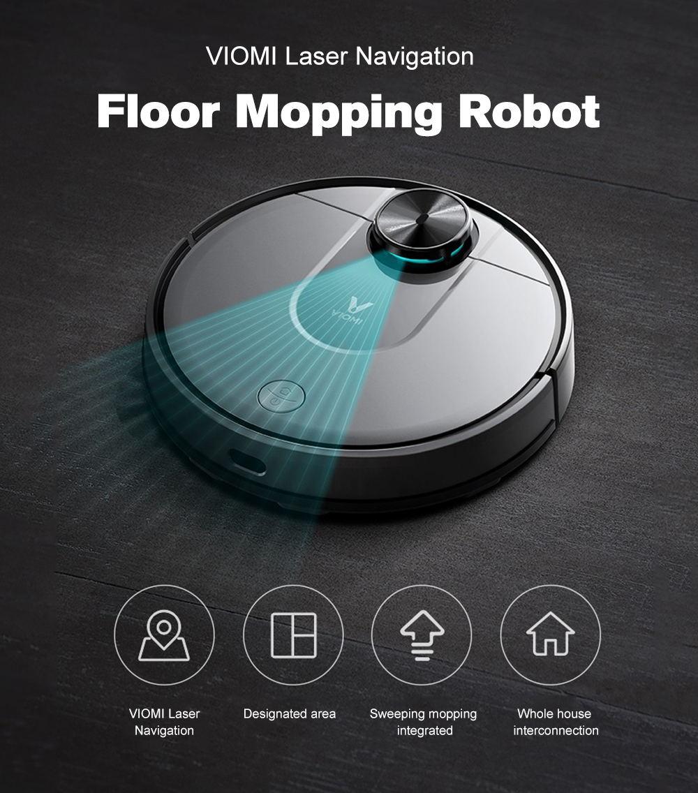 xiaomi viomi smart robot vacuum cleaner pro