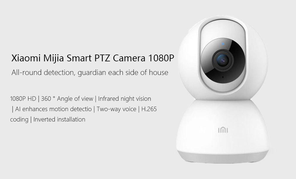Xiaomi Xiaobai IMI 1080P cámara IP versión pan-tilt - guarda cada lado de la casa Xiaomi-Xiaobai-Mijia-IMI-1080P-Home-Security-Camera-1